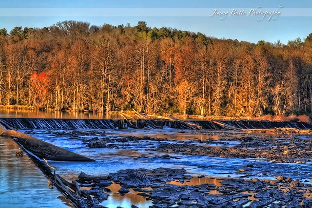 Augusta Lock & Dam (HDR)