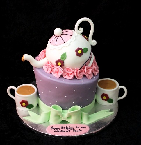 Tea Party Cake Irena Flickr