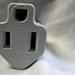 adapter plug, grey