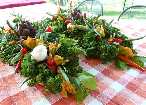 Cindystar centrotavola verduroso quasi da mangiare whb 339 - Centro tavola con frutta ...