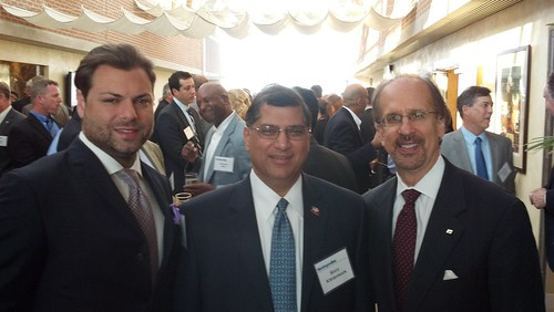 Jason Kampf (VP of CoVant), Shiv Krishnan (CEO of INDUS) and Greg Baroni (Chairman and CEO, Attain LLC)