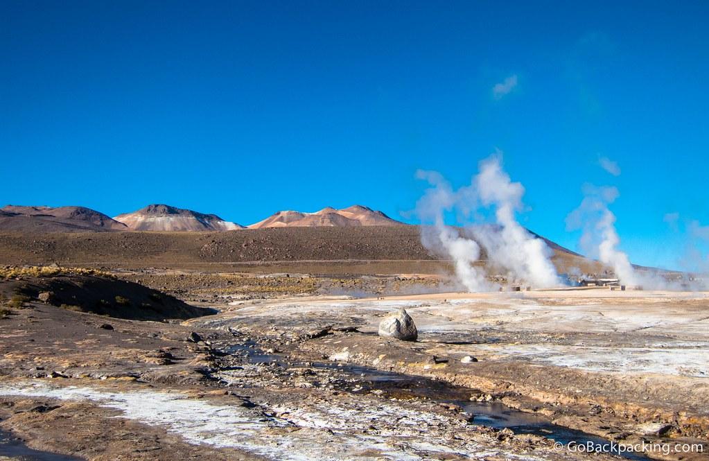 One last look at El Tatio Geysers in Chile's Atacama Desert