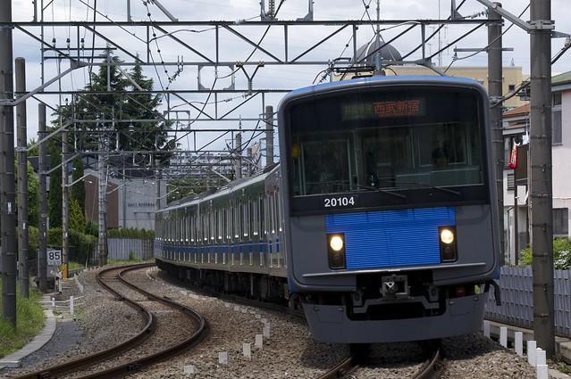 西武鉄道 20000系電車/拝島快速 西武新宿行き