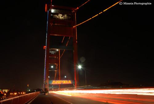 jembatan ampera malam photo