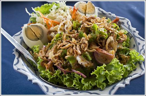 Yam Tua Pu, Wing Bean Salad (ยำถั่วพู)