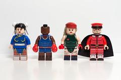Street Fighter Minifigs - Round 3