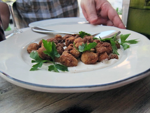 chicken-fried sweetbreads