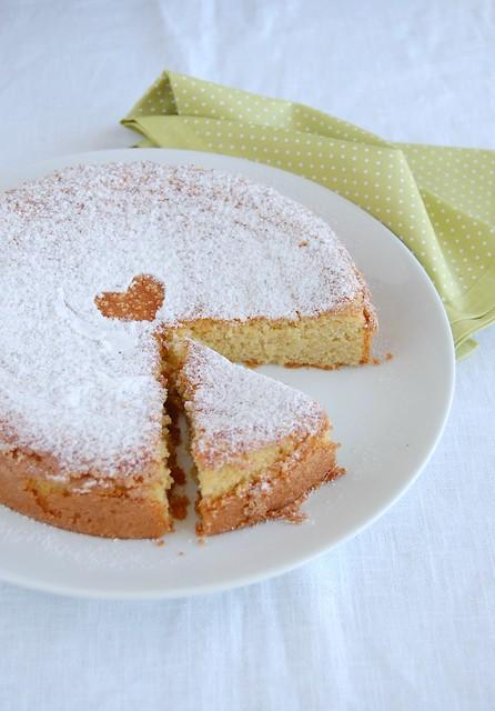 Almond cake (Tarta de Santiago) / Bolo de amêndoa (Torta de Santiago)