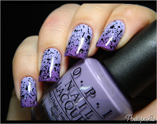 Gradient Nails + Dark Angel - Penélope Luz