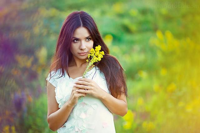Flor de mirada