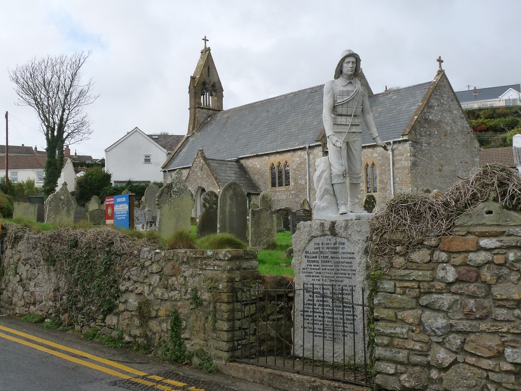 11714 - Dunvegan Memorial, Port Eynon