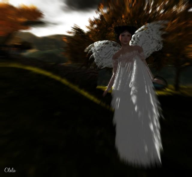 As a fairy