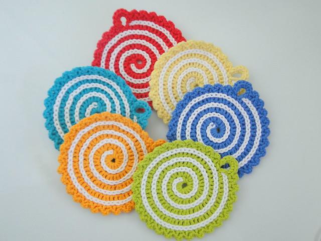 swirl coasters