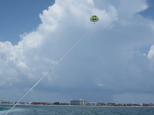 Parasailing at Siesta Key