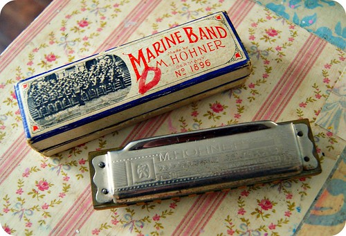 Aaron's grandfather's Harmonica : )