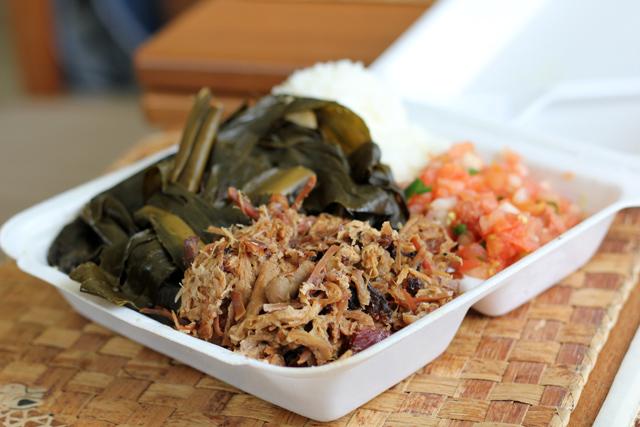Hawaiian Food Plate Lunch