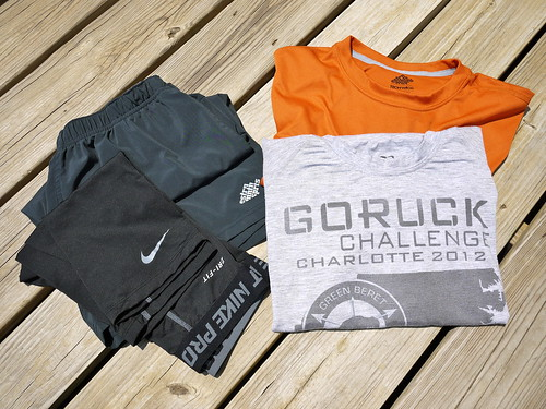 My GORUCK Challenge Gear List — Brian's Backpacking Blog