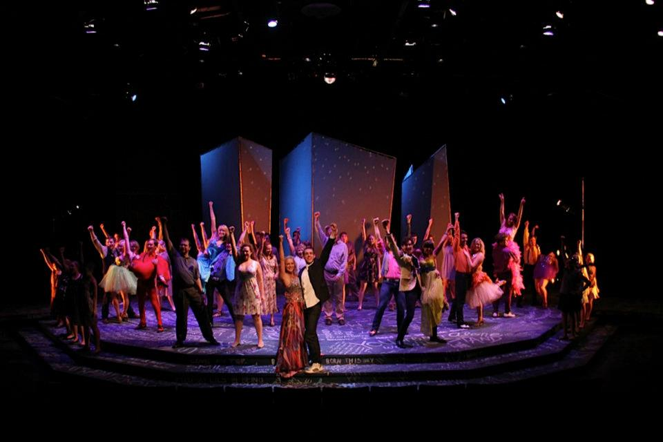 Footloose (photo from Timberlake Playhouse fbook)