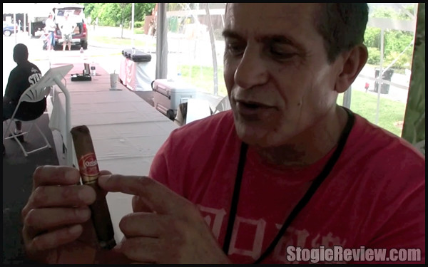 Eddie Ortega at the 2012 Famous Smoke Shop Cigarnival - 1