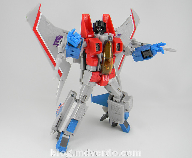 Transformers Starscream Masterpiece MP-11 - modo robot