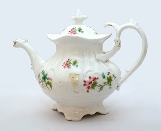 Teapot from the Burns' household