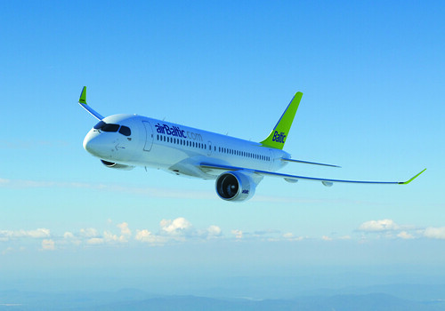 airBaltic CSeries aircraft
