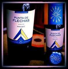 Punta de Flechas Malbec 2009 y Bodega Flecha de los Andes