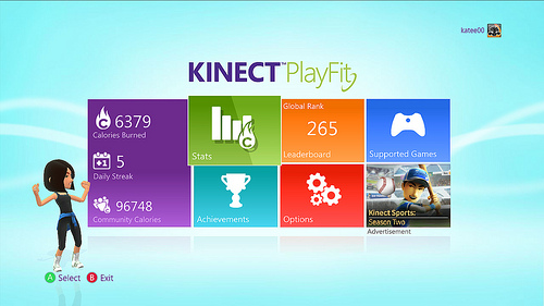 Kinect PlayFit Now Out for Xbox 360