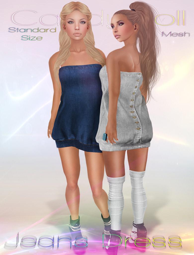jeans dress add