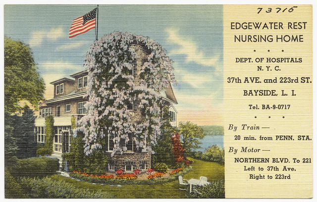 Edgewater rest nursing home dept of hospitals n y c for Edgewater retirement home