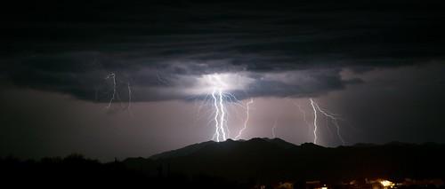 summer arizona sky storm mountains southwest phoenix rain weather night clouds landscape desert sony north american bolt thunderstorm lightning alpha sonoran a390 mazatzal