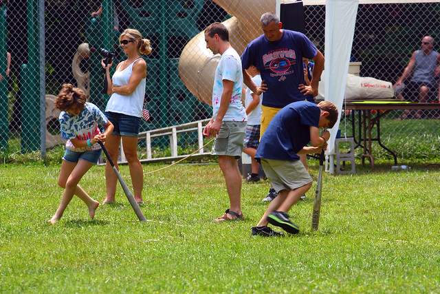 4th of July activities at Vogel State Park