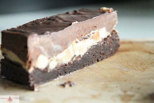 Cookie Dough Ice Cream Brownies