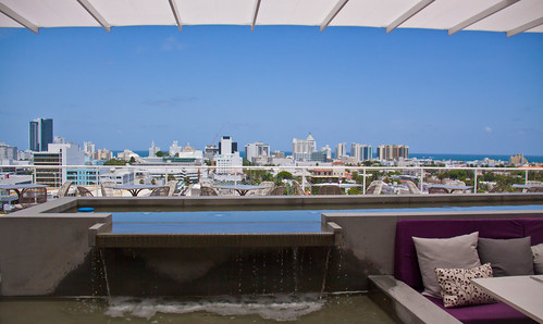 Roof Deck at Juvia Miami - South Beach, FL