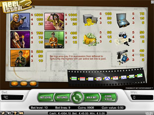 free Reel Steal slot payout