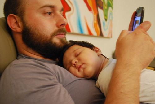 Lilo pennt Papa twitter