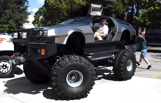 Delorean Monster Ttruck