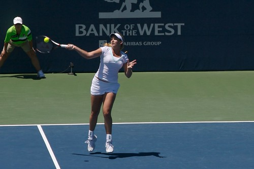 Bank of the West Classic 2012 - Vandeweghe vs. Wickmayer