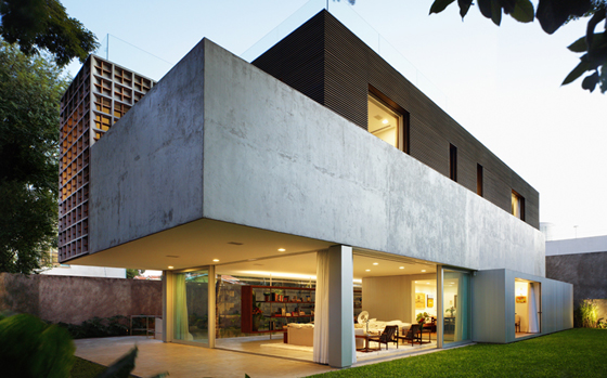 Sumaré House, architecture: Isay Weinfeld, photo: Nelson Kon