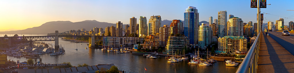 Westend Vancouver Panorama 2012