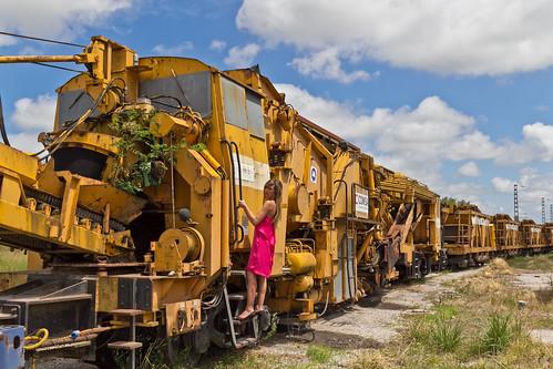 Sesión entre trenes