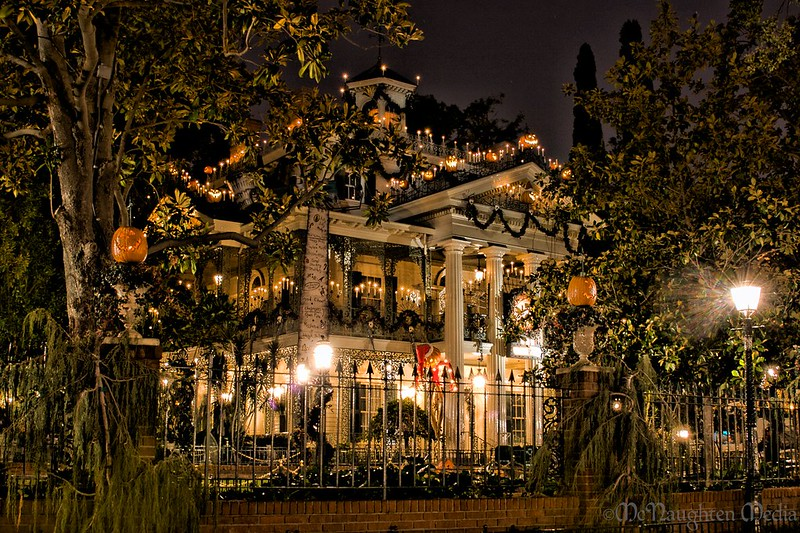 Disneyland's                            Haunted Mansion Holiday V3