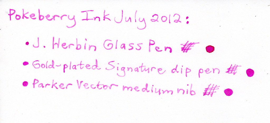 Pokeberry Ink - Inky Recipes - The Fountain Pen Network