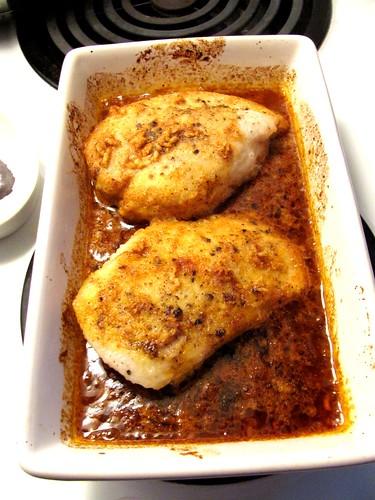 Caribbean Rum Raisin Chicken