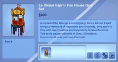 Le Cirque Esprit- Fun House Gym Set