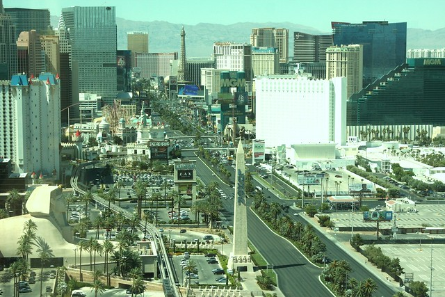 vegas from mandalay bay
