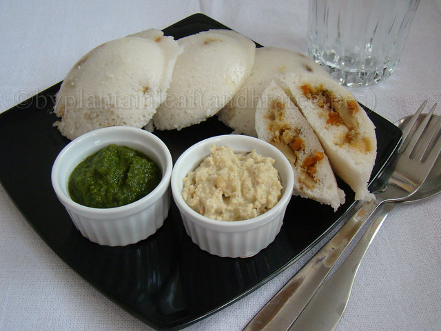 stuffed idli
