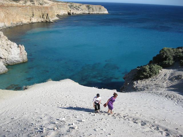 Τσιγκράδο beach, Milos, Greece