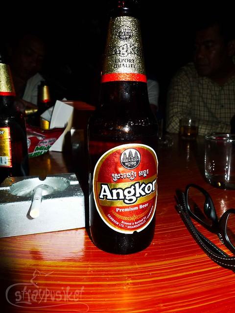 Angkor Beer at Bou Savy Guesthouse