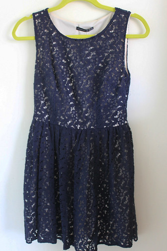 Primark Navy Lace Dress